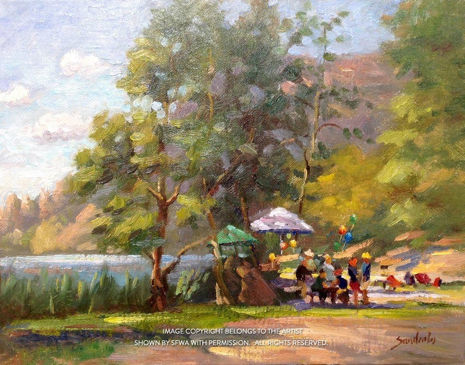 LoSa_LakeTemescal_Oil_20x17