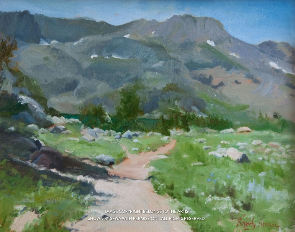 BrownBe_LakeWinnemuccaTrail-oil-20x17