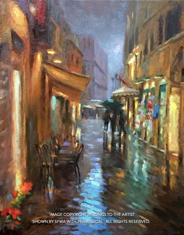 LoSa_RainyNightInFlorence_Oil_22x26