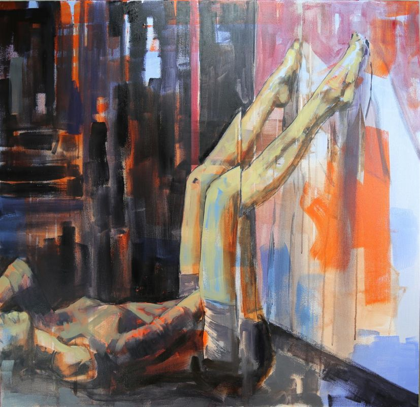 Nikiforova_Mariya_TheAccomplice_2of2_Oil_36x36