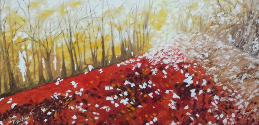 Rajesh_Rashmi_ColorsOfAutumn_Oil_15x30