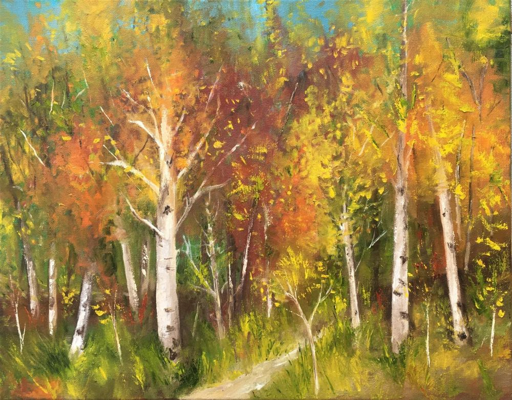 BridonMa-The-Edge-of-the-Forest_OIl-18x22