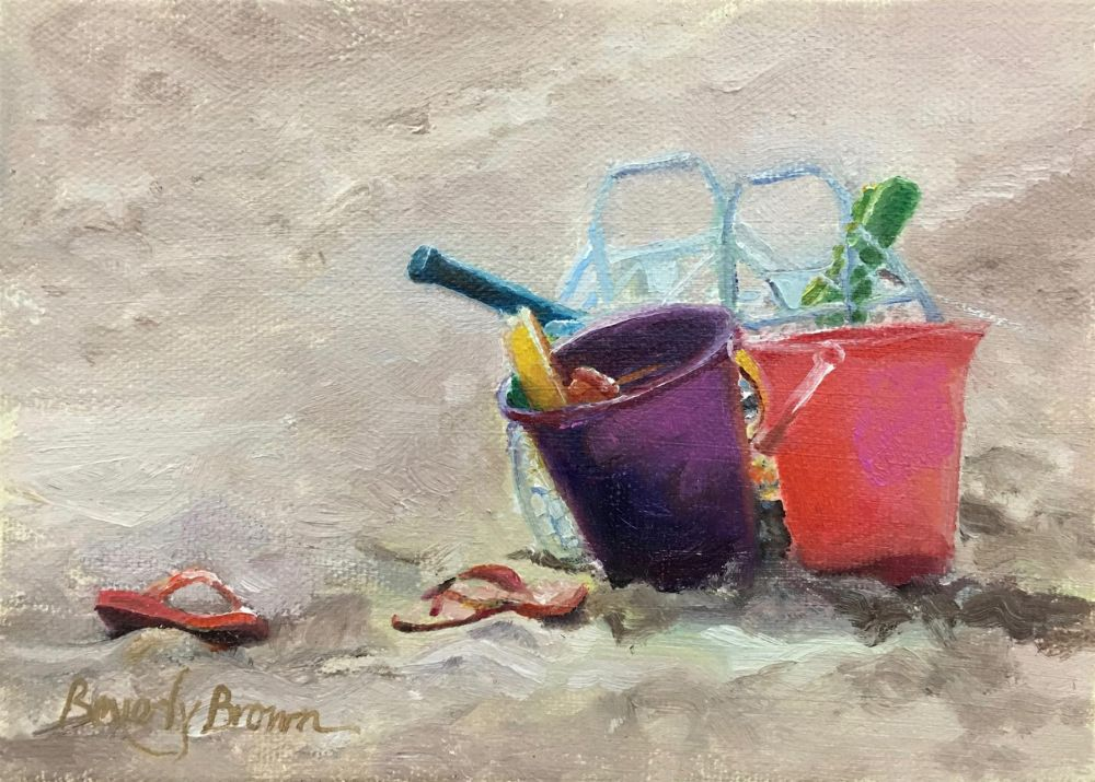 BrownBe_Beach-Toys_Oil_9x11