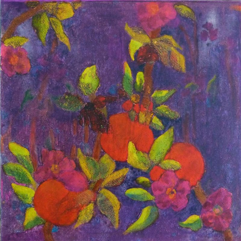 CoggeshallKa_Oranges-Violet_Oil_12x12