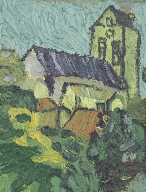 FriedJa_Old-Village_Oil_10x8