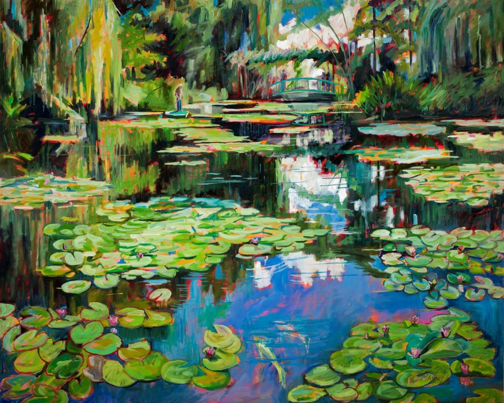 MasseyMarie_Homage-to-Monet_Oil_48x60