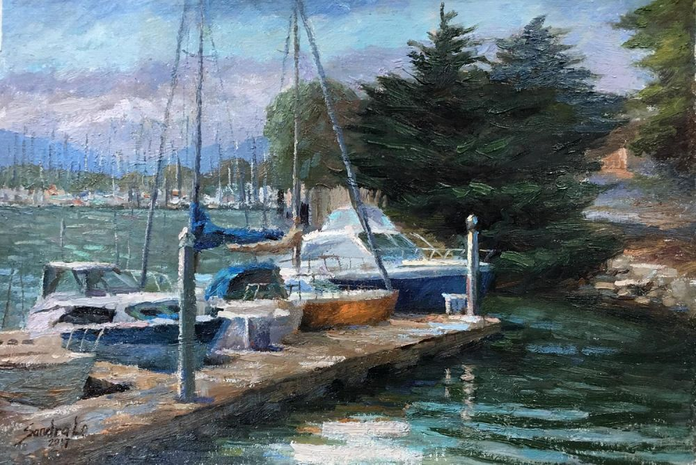 LoSa-Berkeley-Marina_Oil_16x22
