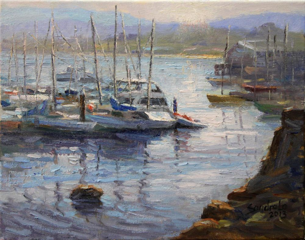 LoSa-Morning-in-Montery_Oil_17x20