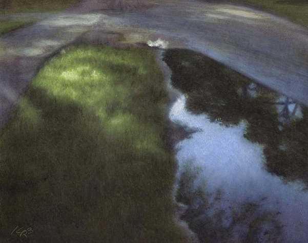 BrownKe_Puddle-Near-Metson-Lake_Oil_14x16