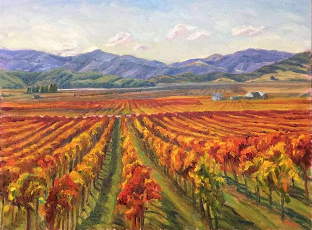 SabreIr-Autumn-Vineyards_Oil_24.5x30.5