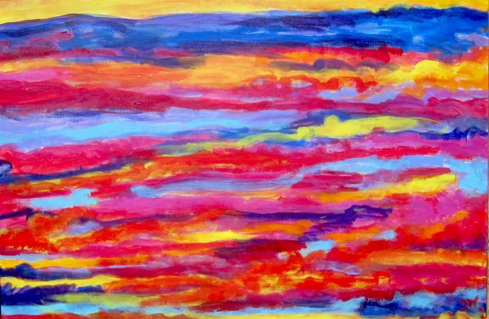 WeintraubDo-Red-Yellow-and-Blue_Acr_29.5x42