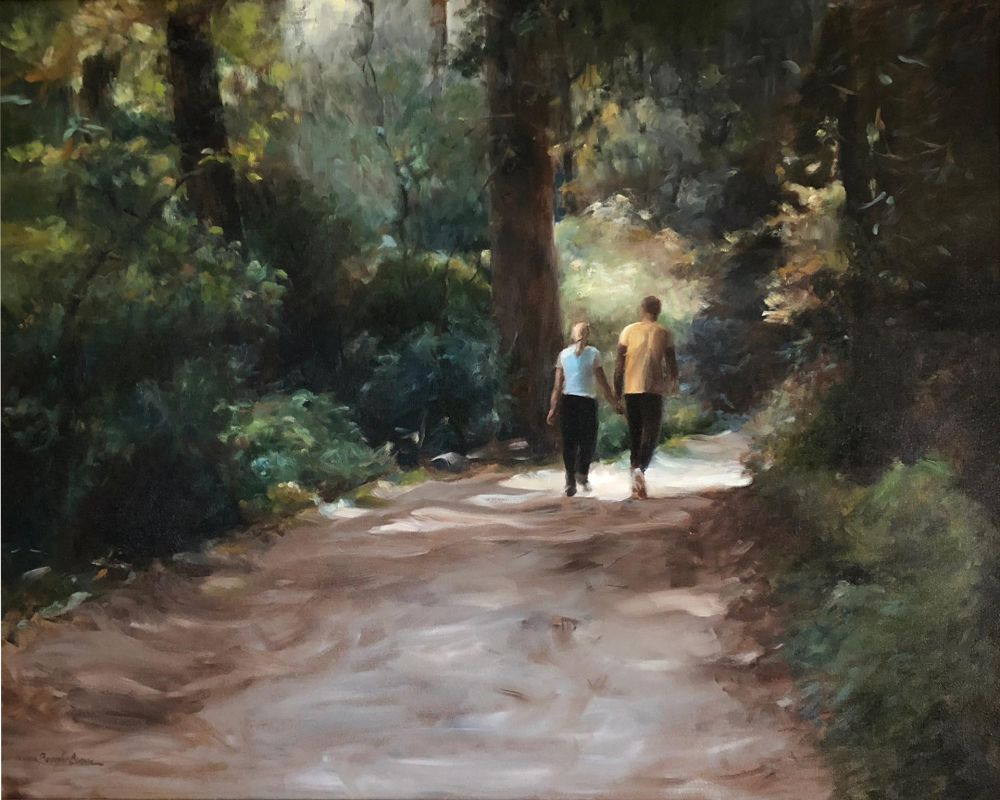 BrownBe-Carolina-Woods_oil30x36