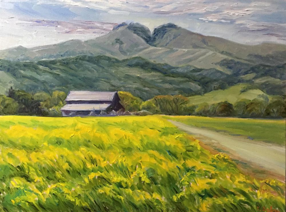 SabreIr-Barn-and-Mustard_Oil24.5x30.5