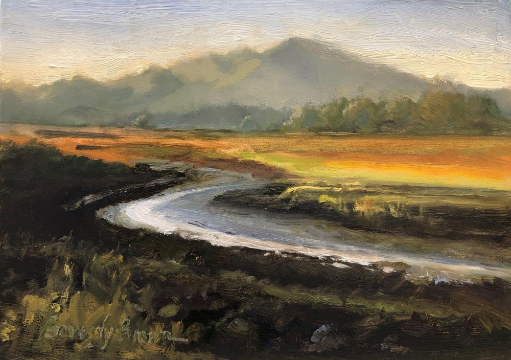 BrownBe-Rush-Creek-to-Olampali_Oil_8.5x10.5