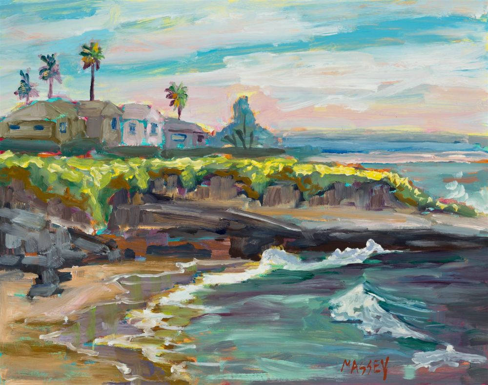 MasseyMa-West-Cliff-Summer_Oil_8x10