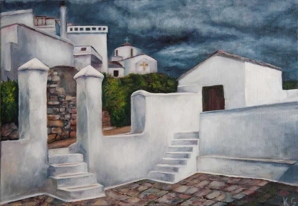 GrossKath-Churchwalk-Before-the-Storm_Oil14x20