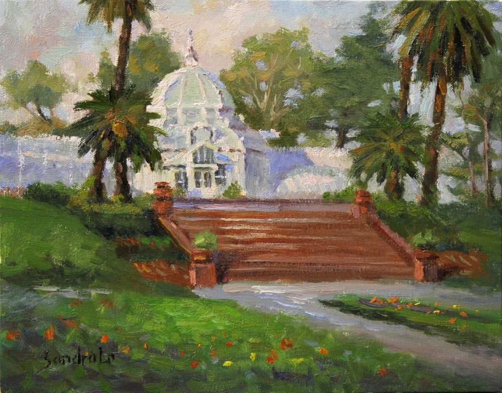 LoSa-Golden-Gate-Park-Conservatory_Oil17x20