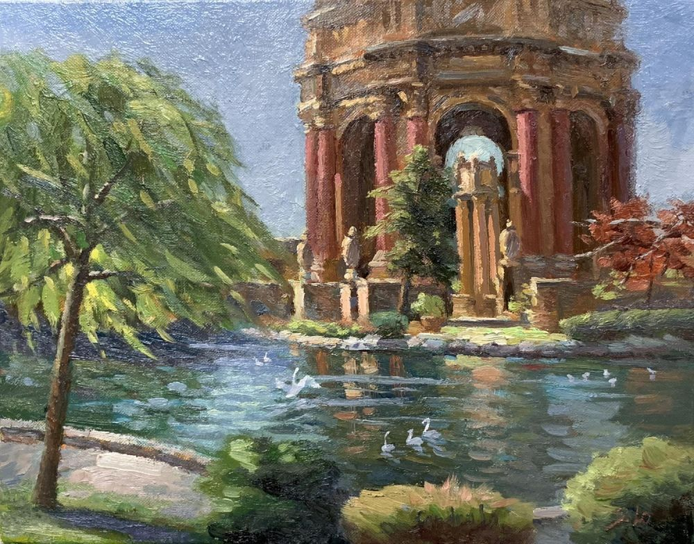 LoSa-Palace-of-Fine-Art_Oil17x20