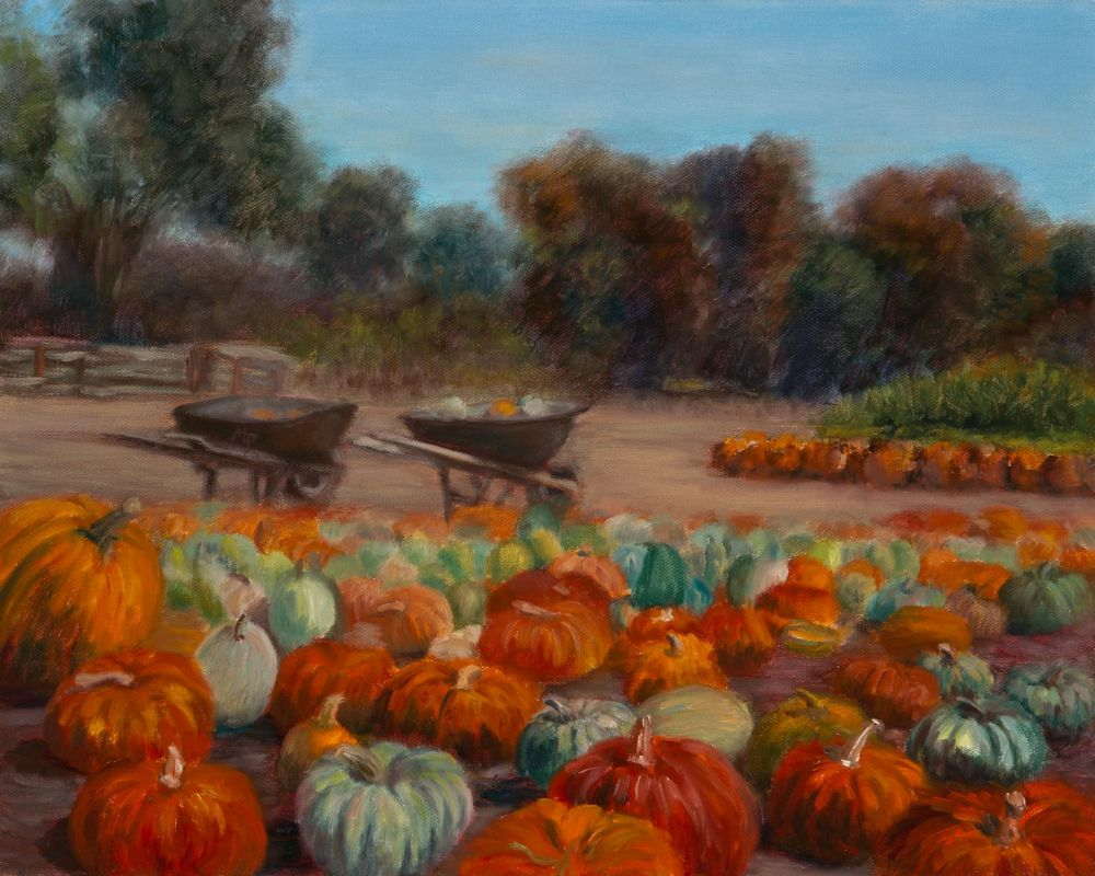 Paris-SeubertMi-Pumpkin-Patch-Half-Moon-Bay_Oil18x22