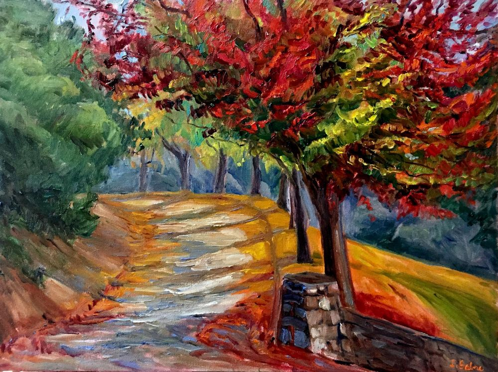 SabreIr-Autumn-Trees_Oil_24.5x30.5
