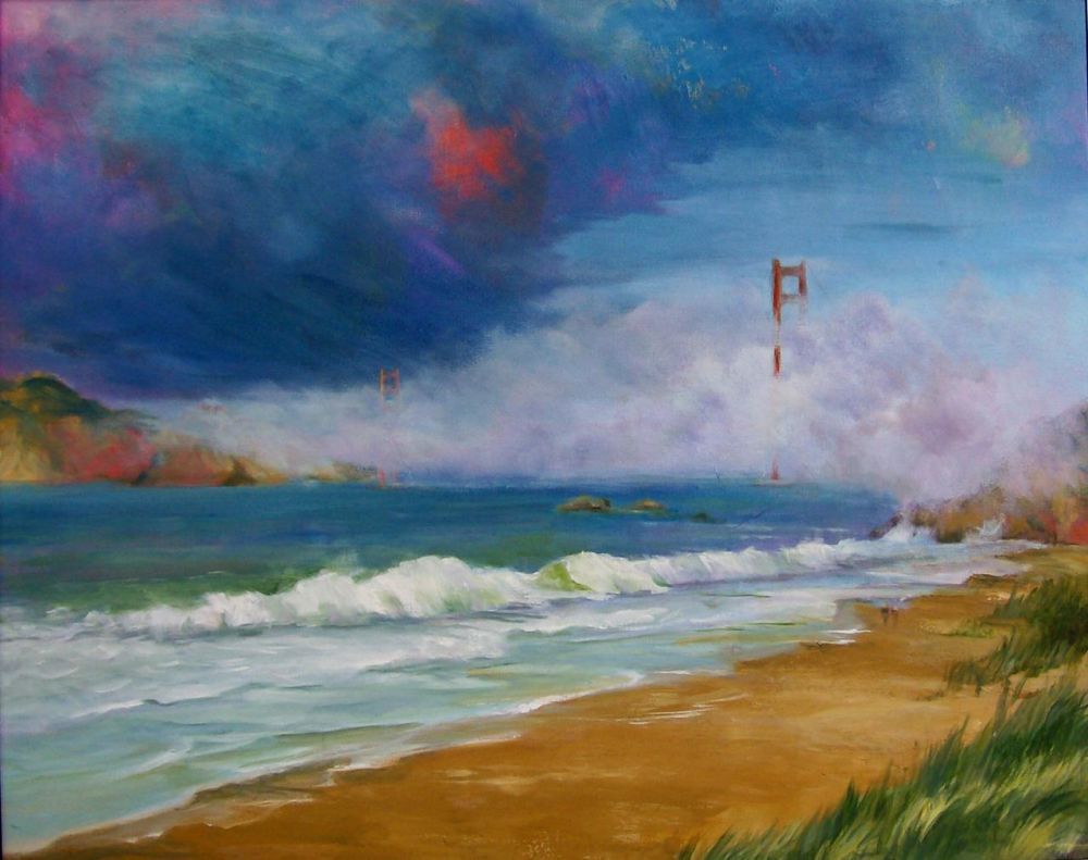SolinDo-SF-Bakers-Beach_Oil_24x30