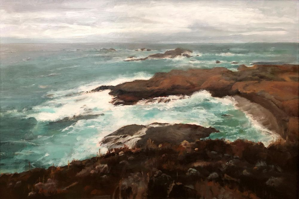 BrownBe-Point-Lobos-Coast_Oil_21x29
