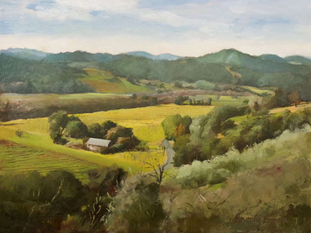 BrownBe-View-from-Trattore-Geyserville_Oil_16.5x20.5