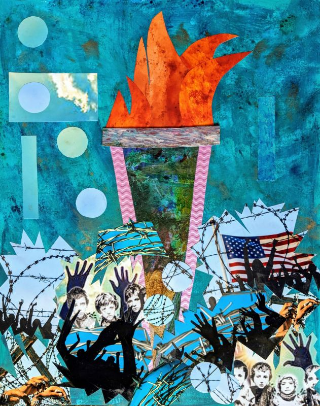 PittPa-Libertys-Torch-from-the-Freedom-Without-Borders-series_Coll_20x16