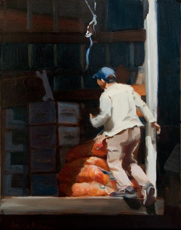 BrownBe-Produce-Truck_Oil_16x13