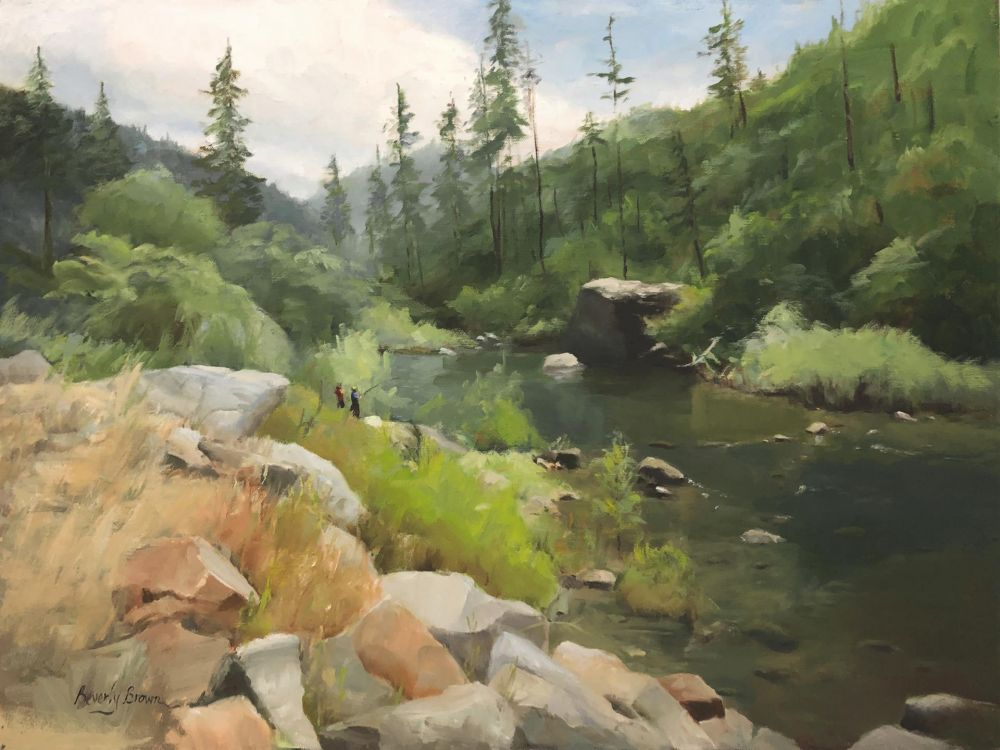 BrownBe-American-River_oil-23x29