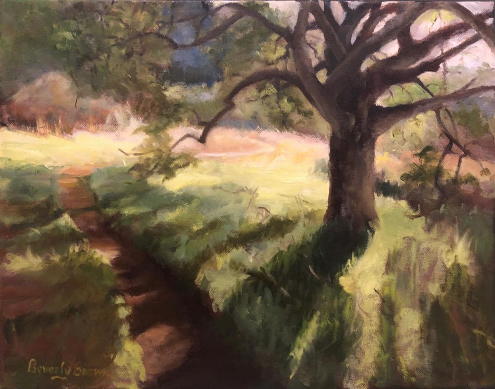 BrownBe-Rush-Creek-Trail_oil-11x14