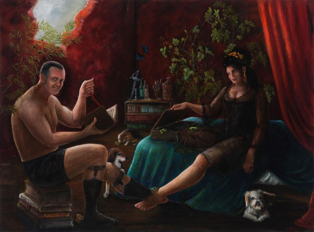 ciancich-Domestic-Bliss_oil-36x48