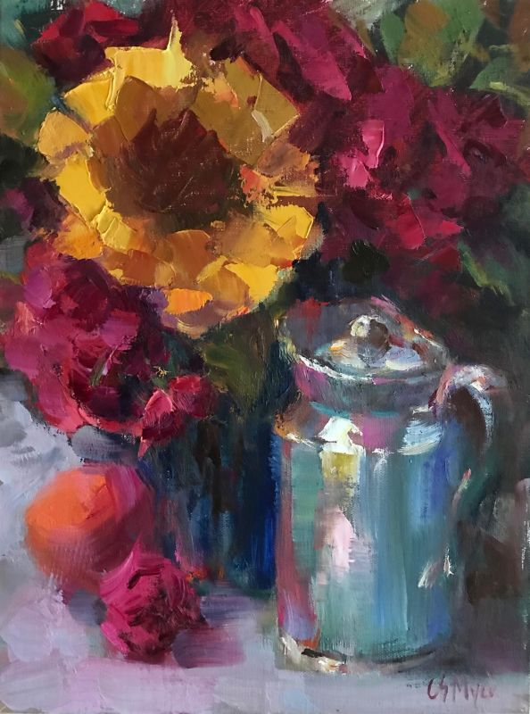 MyerCa-Every-Pitcher-Tells-a-Story_Oil_16x12