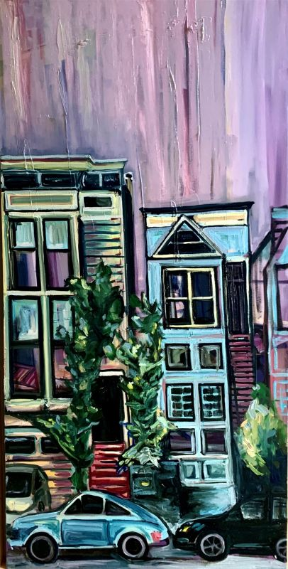 ClareAm-Sweet-Home-Dogpatch_Oil_48x24
