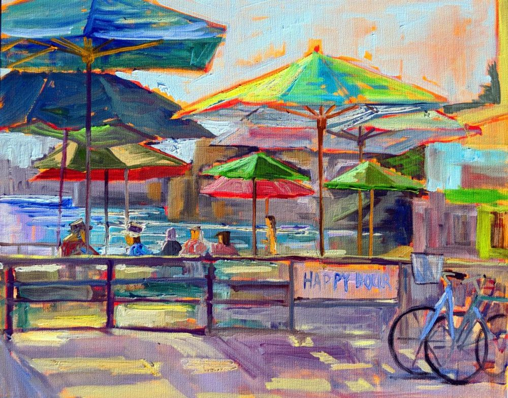 MasseyMa-Happy-Hour_Oil_16x20