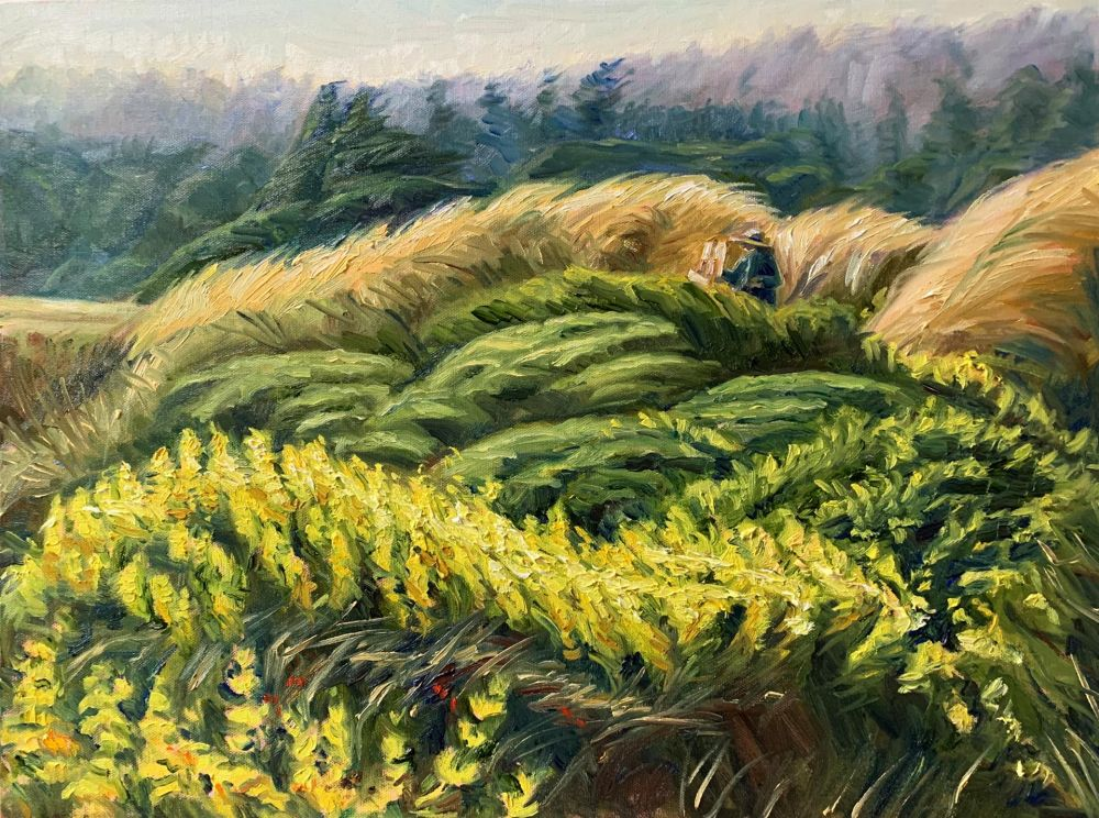 SabreIr-Painting-in-the-Lupines_1