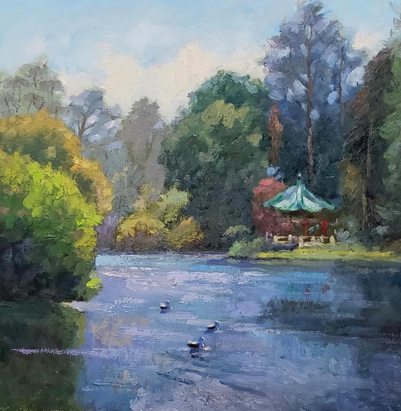 LoSa-Noon-At-Stow-Lake_Oil_18x18