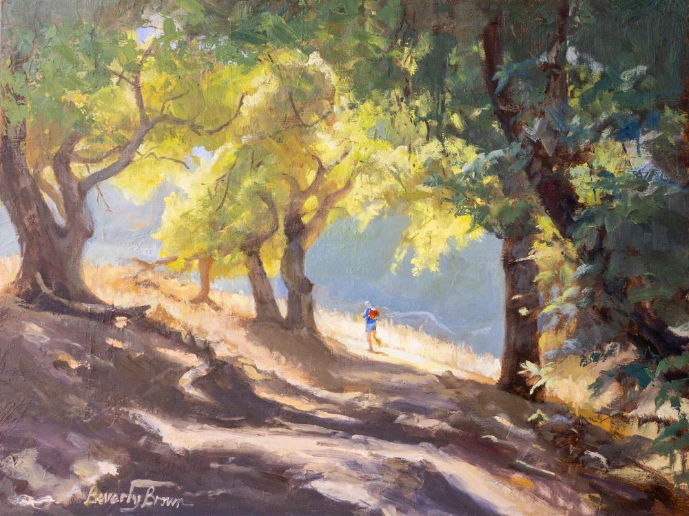 BrownBe-Burdell-Runner_Oil_18x22