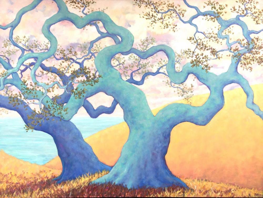 CroghanMa-Tamalpais-Oak-Dance_Oil_36x48