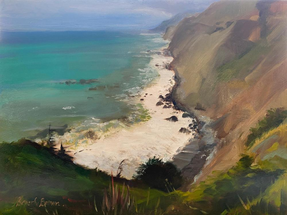 BrownBe-California-Cliffs_Oil_15x18