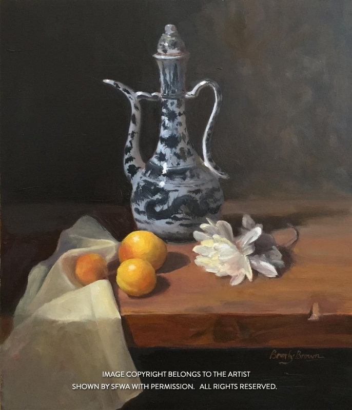 BrownBe_Ming-Teapot_Oil_16x18
