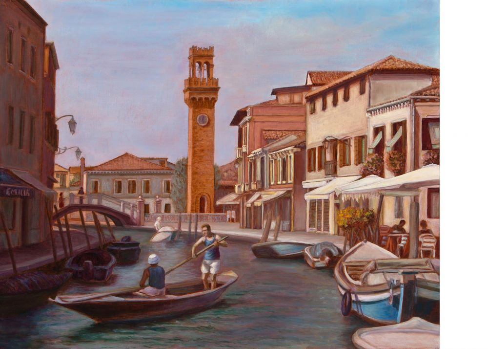 Paris-SeubertMi-Venice_Oil_25x31