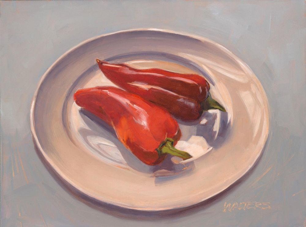 WaltersMa-Two-Red-Peppers_Oil_10x13