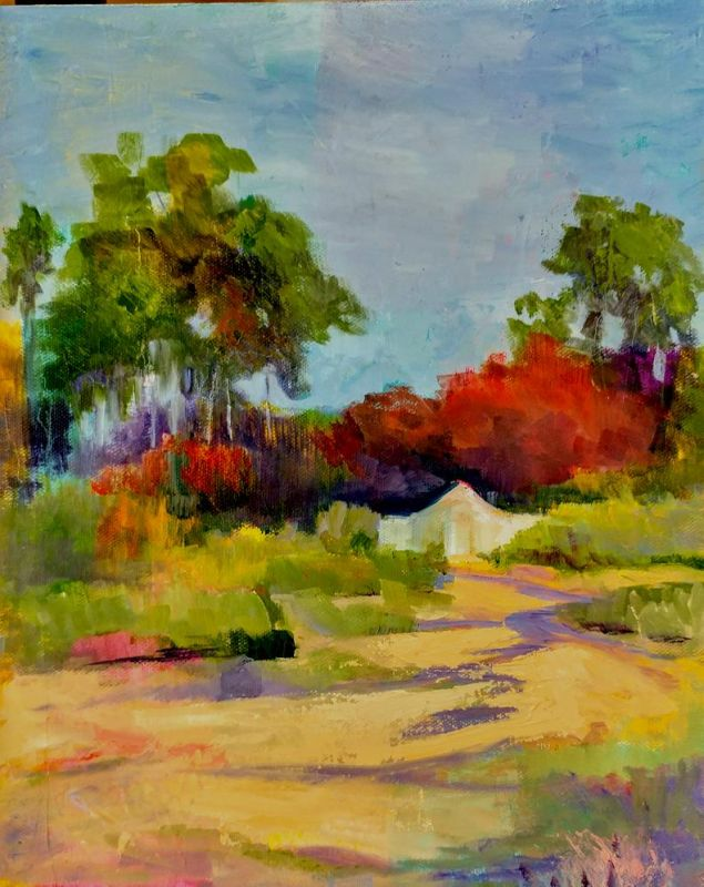 SolinDo_Path-to-Minis-house_1Oil_14x18