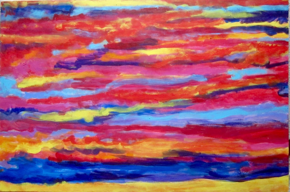 WeintraubDo_Blue-Red-and-Yellow_Acr_35.75x24