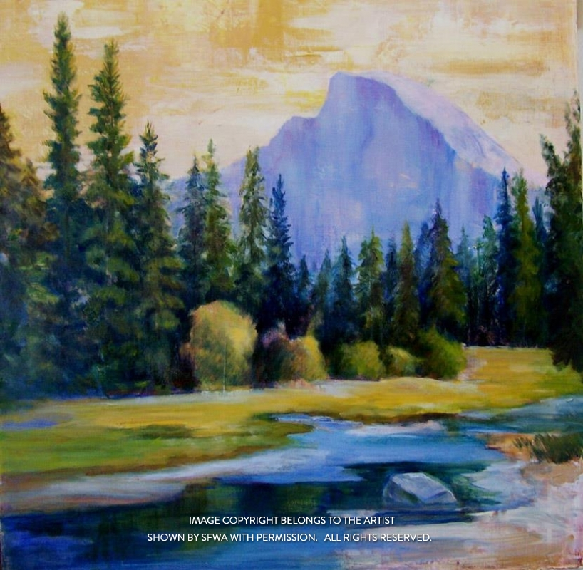 SolinDo_YosemiteValley_Oil_20x20