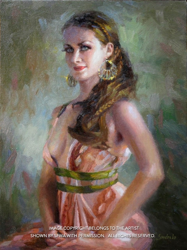LoSa_FlamencoDancer_Oil_22x28
