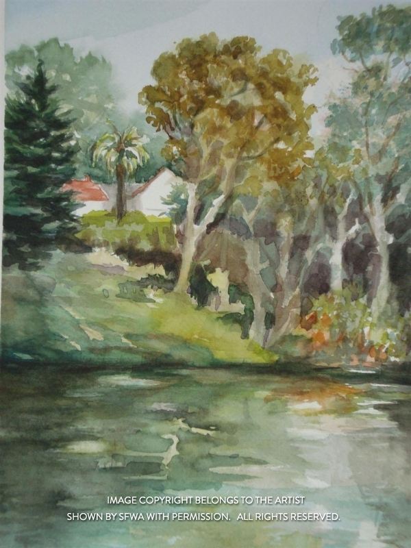 CoggeshallKa_MountainLake_Watercol_11x14