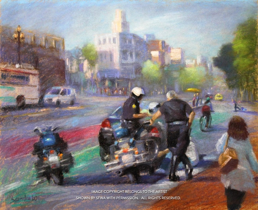 LoSa_MarketStreetSanFrancisco_Oil_24x20