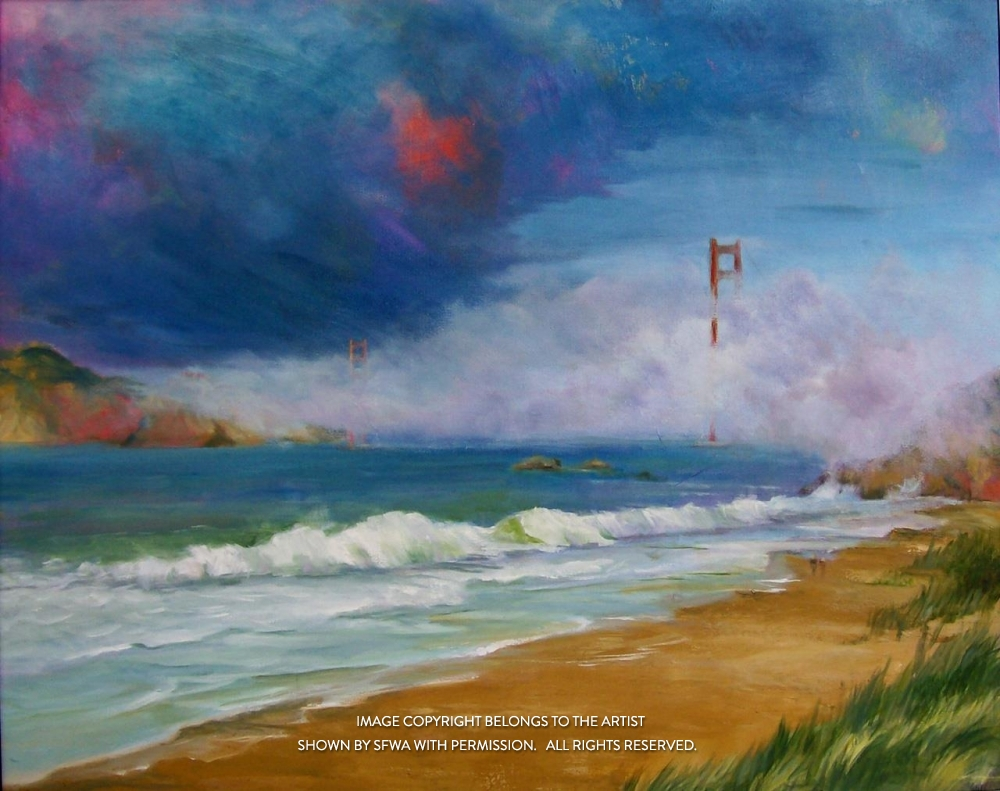 SolinDo_SFBaker'sBeach_Oil_30x24